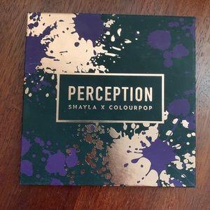 Colourpop X Shayla Perception eyeshadow palette